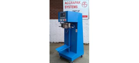 Bagging machine for open sacks
